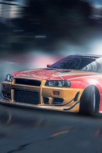1125x2436 Nissan Skyline GT R Need For Speed X Street Racing Syndicate 4k