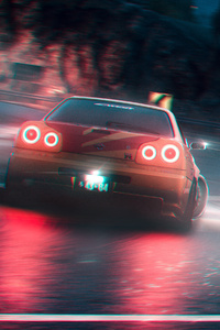 1125x2436 Nissan Skyline GT R Need For Speed X Street Racing Syndicate