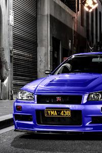 1080x1920 Nissan Skyline Gtr R34 4k