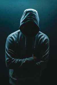 1440x2560 No Face Hoodie Guy