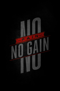 1242x2688 No Pain No Gain