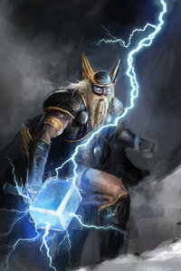 Norse God Of Lightning 4k