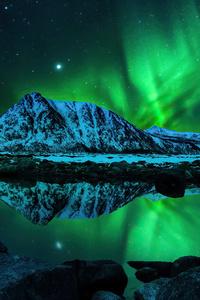 1440x2560 Northern Lights Aurora Borealis 4k