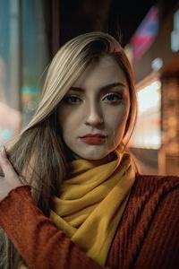 320x568 Nose Pierced Girl 5k