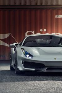 Novitec Ferrari 488 Pista 2019 4k