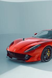 480x800 Novitec Ferrari 812 GTS 2021 8k