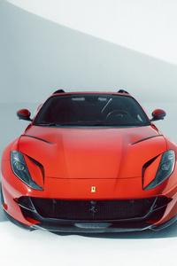 480x800 Novitec Ferrari 812 GTS 2021 Front