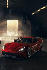 Novitec Ferrari 812 Superfast N Largo 2019 4k