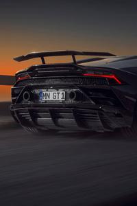 Novitec Lamborghini Huracan Evo Rear View 8k