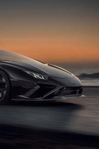 1280x2120 Novitec Lamborghini Huracan EVO RWD 2021 10k