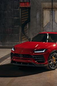 360x640 Novitec Lamborghini Urus 2019 5k