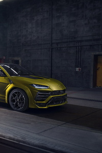360x640 Novitec Lamborghini Urus Esteso 2019 5k