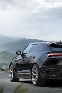 1080x2280 Novitec Lamborghini Urus Esteso 2019 Rear