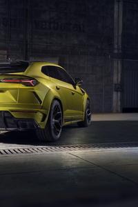 Novitec Lamborghini Urus Esteso 2019 Rear View