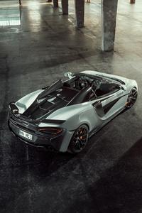 Novitec McLaren 570S Spider 2018 4k