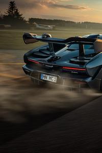 750x1334 Novitec McLaren Senna 2020 Drifting