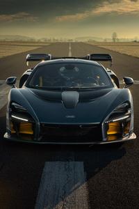 1440x2960 Novitec McLaren Senna 2020 Front