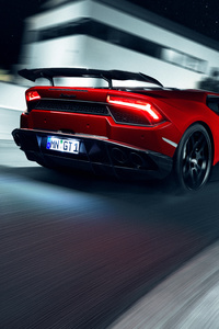Novitec Torado Lamborghini Huracan 2018 Rear