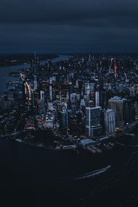 480x854 NY United States Above The Big Apple