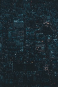 1080x2280 Nyc City Aerial View 4k
