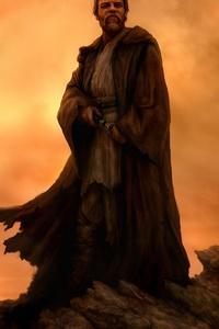 1080x2160 Obi Wan Kenobi Star Wars 4k