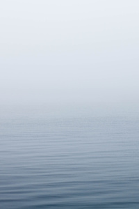 Ocean Under Fog