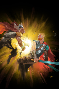 Odinson Vs Beta Ray Bill