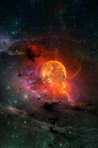 1080x1920 Odisee Space 4k