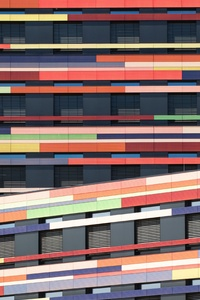 540x960 Office Building Colorful Architect