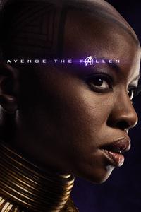 Okoye Avengers Endgame 2019 Poster