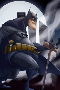 720x1280 Old Bat Man 4k