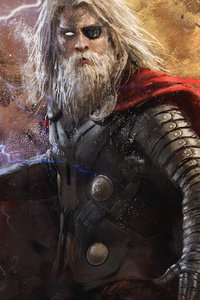 240x400 Old Thor 4k