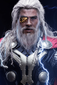Old Thor Digital Art