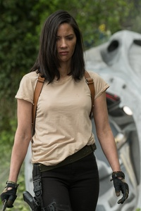 Olivia Munn In The Predator Movie