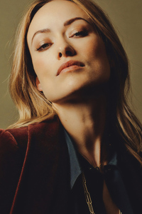 2160x3840 Olivia Wilde Ryan Pfluge The New York Times Photoshoot
