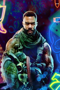1440x2960 Omari Hardwick As Vanderohe In Army Of The Dead Character Poster 5k