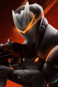 Omega With Rifle Fortnite Battle Royale