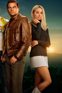1080x2160 Once Upon A Time In Hollywood 8k 2019