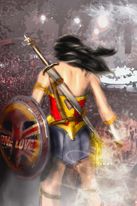 800x1280 One Love Wonder Woman