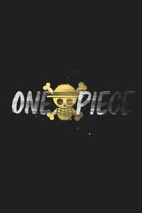 1280x2120 One Piece Minimal 4k
