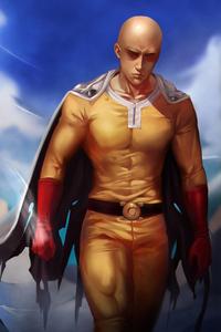 One Punch Man Art 4k