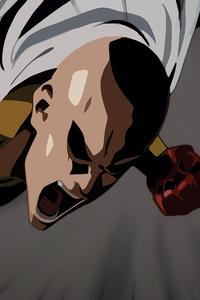 One Punch Man Minimalism 4k