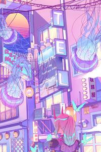 Oni City Girl