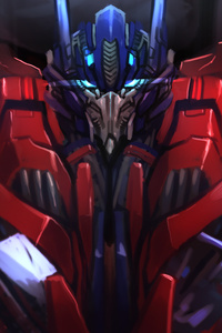 Optimus Prime Fan Art