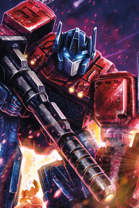 Optimus Prime Transformers Digital Art