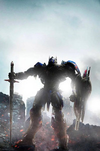 1242x2688 Optimus Prime Transformers The Last Knight 4k