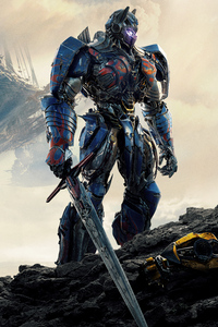 1125x2436 Optimus Prime Transformers The Last Knight 5k