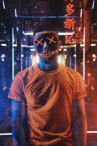 480x800 Orange Mask Boy