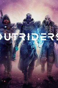320x568 Outriders 8k 2020