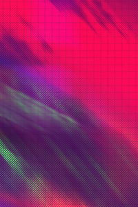 Outrun Abstract Square 4k